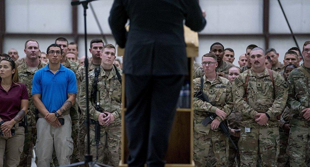ABD Dışişleri Bakanı Mike Pompeo- Afganistan