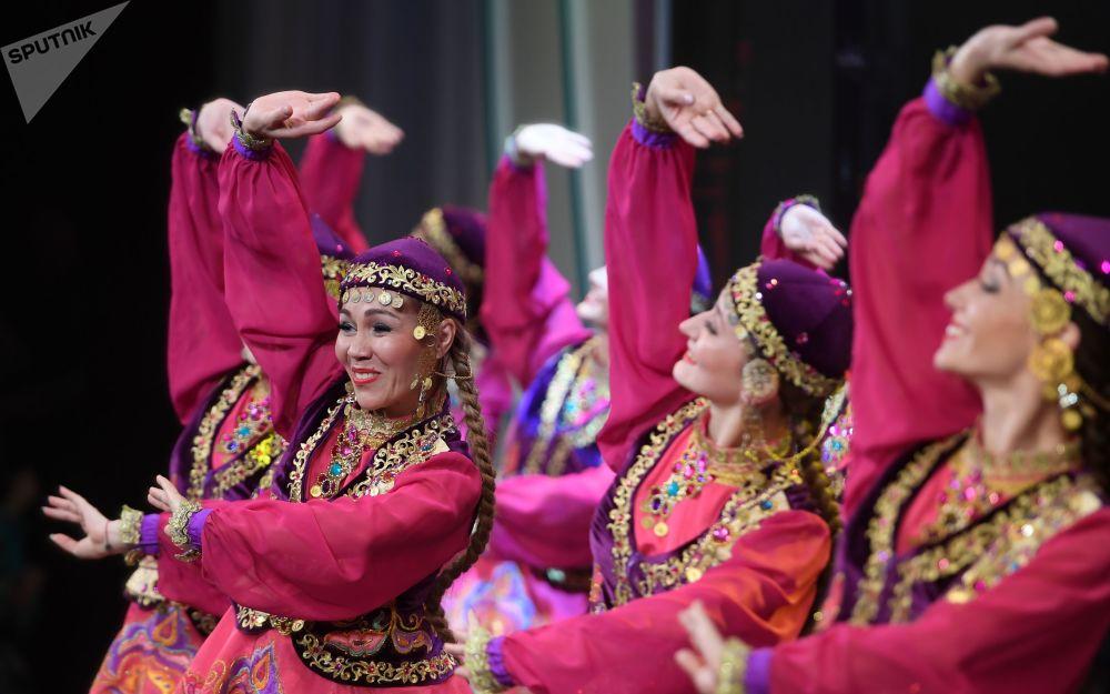 Kazan'da 'Tatar Kızı' 2018 Güzellik Yarışması