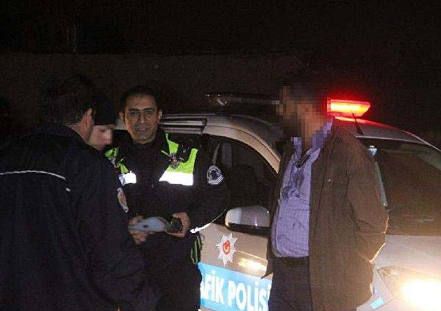 Konya'da alkollü yakalanan sürücü: Aracın ne suçu var?
