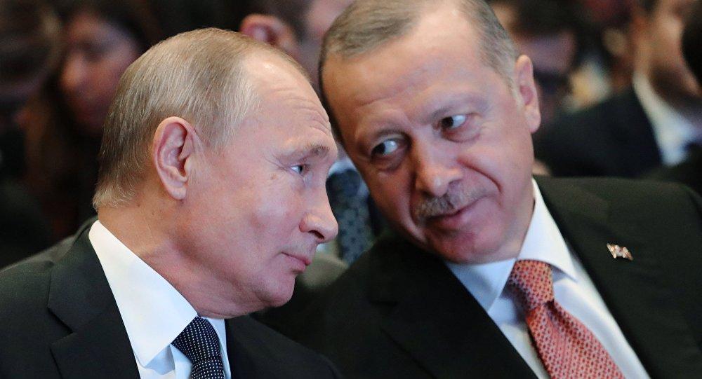 Rusya lideri Vladimir Putin- Cumhurbaşkanı Recep Tayyip Erdoğan