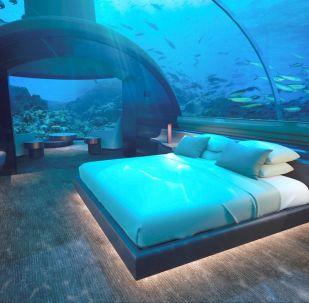 Dünyanın en etkileyici  su altı otelleri