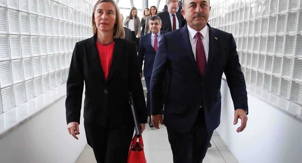 Mevlüt Çavuşoğlu - Federica Mogherini