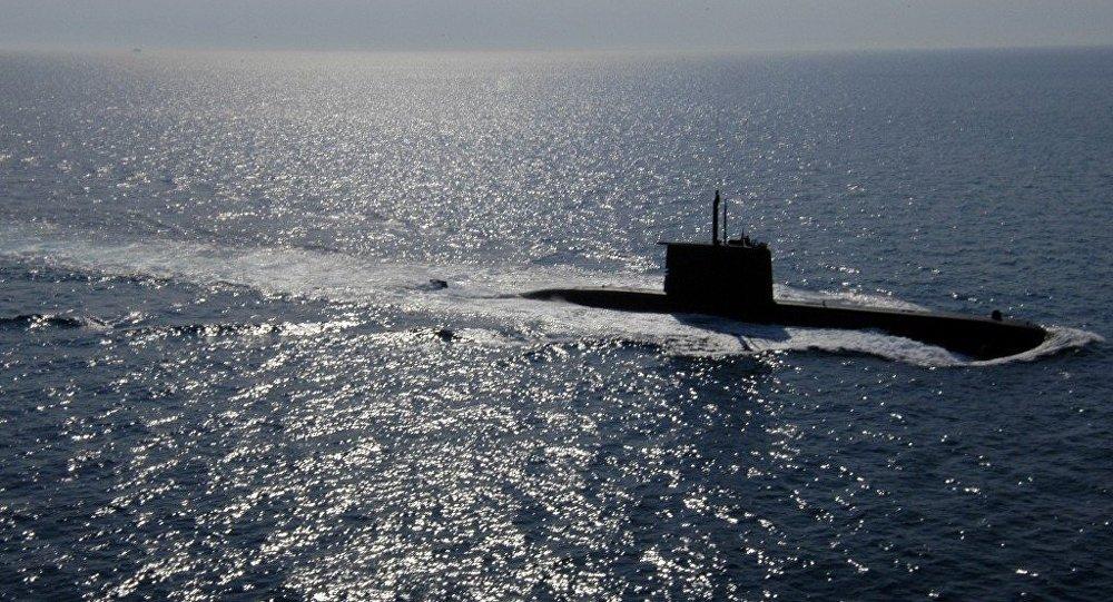Akdeniz'de 209 sınıfı denizaltı