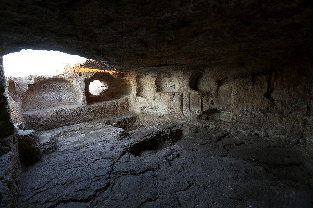 Diyarbakır-Mardin arasında bulunan Zerzevan Kalesi
