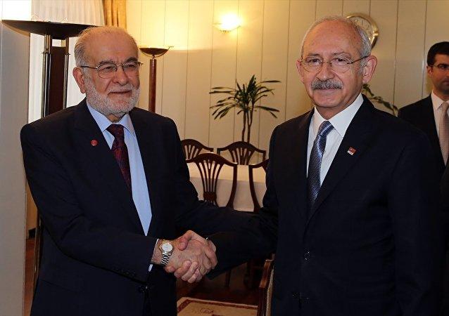 Kemal Kılıçdaroğlu - Temel Karamollaoğlu