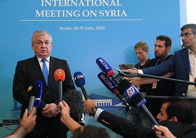 Rusya lideri Vladimir Putin'in Suriye Özel Temsilcisi Aleksandr Lavrentyev