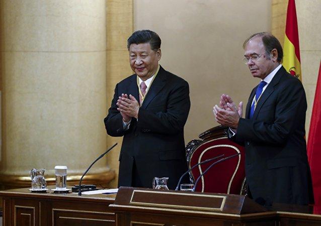Çin Devlet Başkanı Şi Cinping İspanya'da