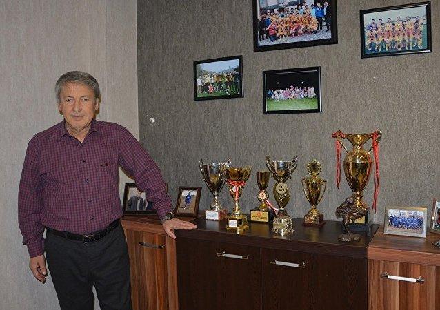 Safranboluspor başkanı Hüseyin Özkaynak