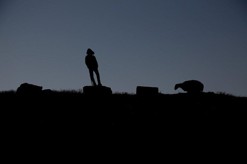 Koca bir sürüye bakan 13'ünde bir çoban: Hayalim yok 83