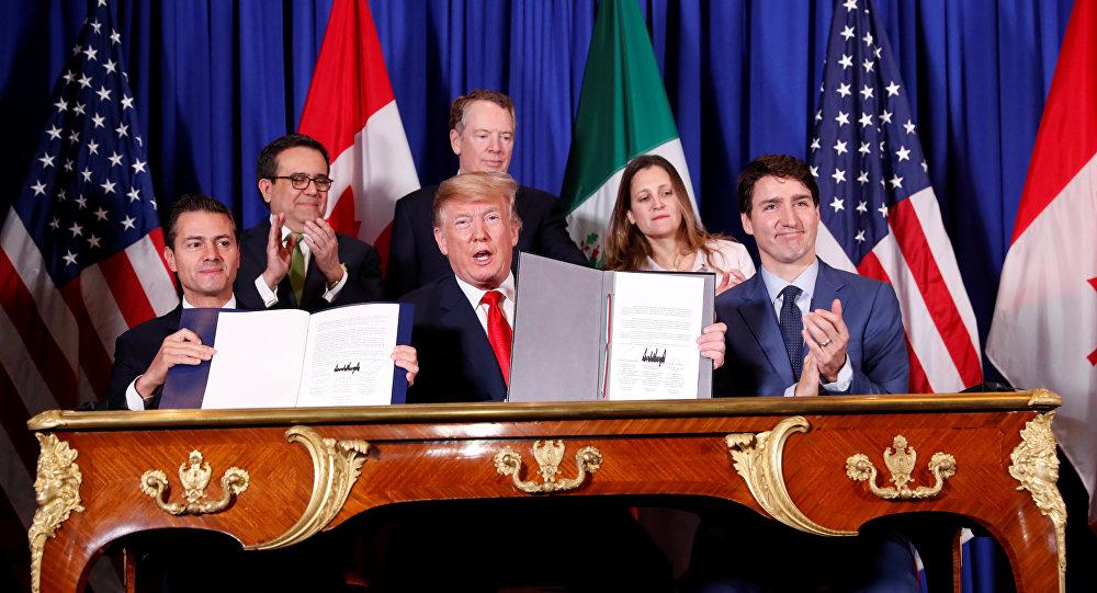 ABD-Meksika-Kanada Anlaşması, G20 Zirvesi'nde imzalandı