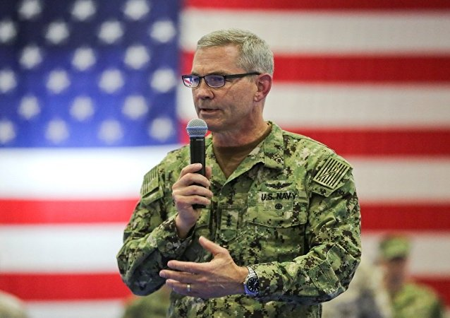 ABD'nin Bahreyn merkezli 5. Filo Komutanı Koramiral Scott Stearney