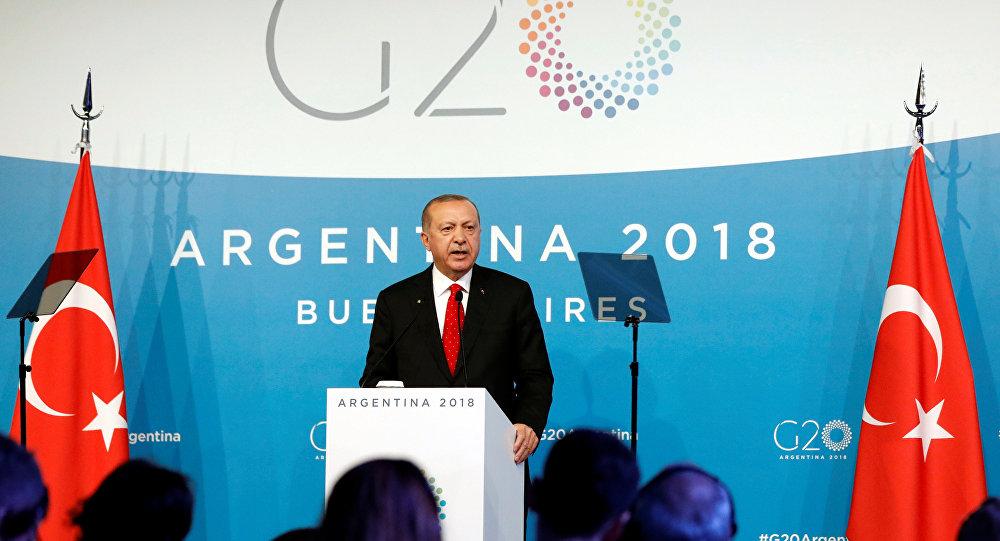Recep Tayyip Erdoğan - G20