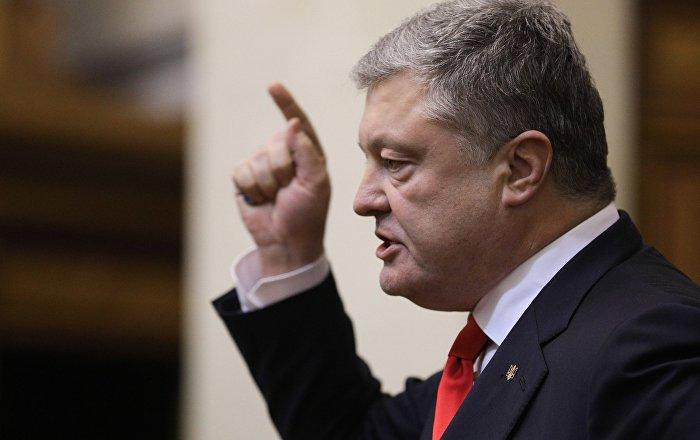 Poroşenko, düşmanlarını ölümcül silahla tehdit etti