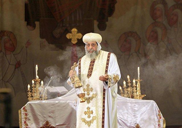 Mısır Kıpti Kilisesinden Suudi Arabistan'da ilk ayin