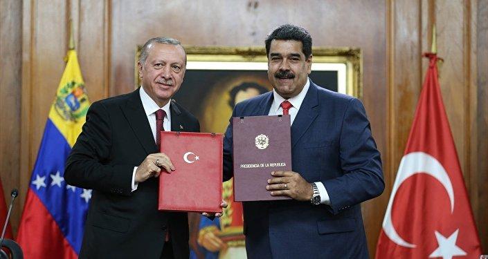 Maduro - Erdoğan