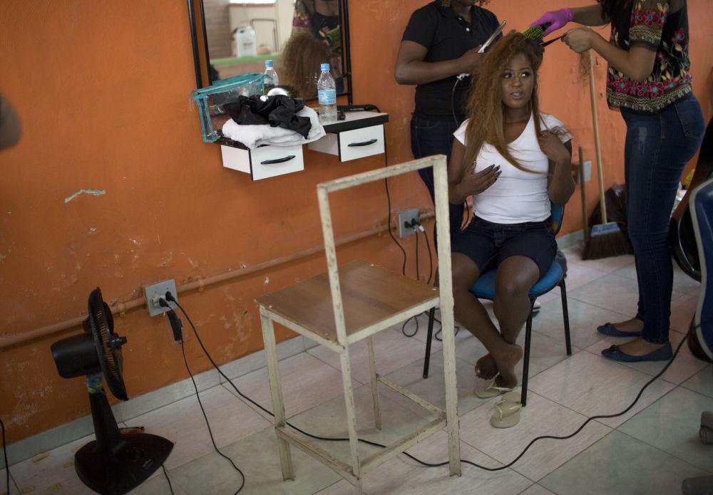 Brezilya'daki cezaevinde güzellik yarışması