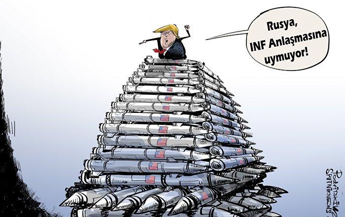 ABD, Rusya'ya INF Anlaşması'ndan doğan yükümlülüklerini yerine getirmesi için 60 gün süre verdi