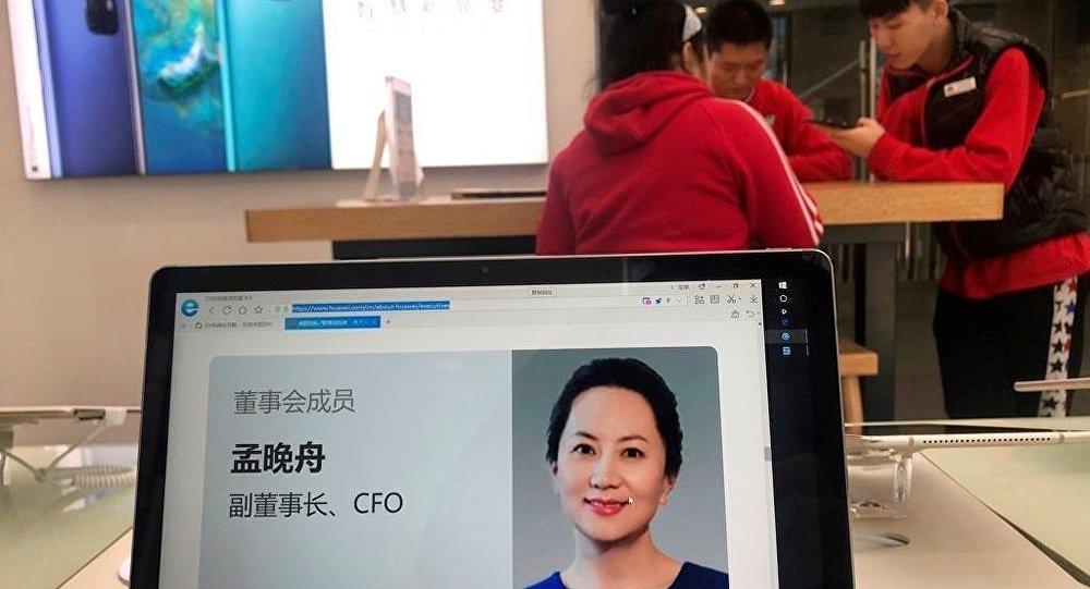 Huawei'nin kurucusu ve sahibi Ren Zhengfei'nin kızı Meng Wanzhou