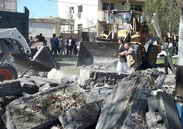İran'da patlama