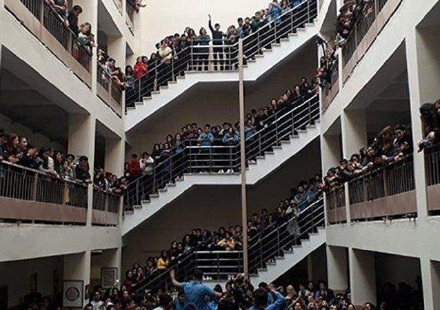 Kadriye Moroğlu Anadolu Lisesi, taciz protestosu
