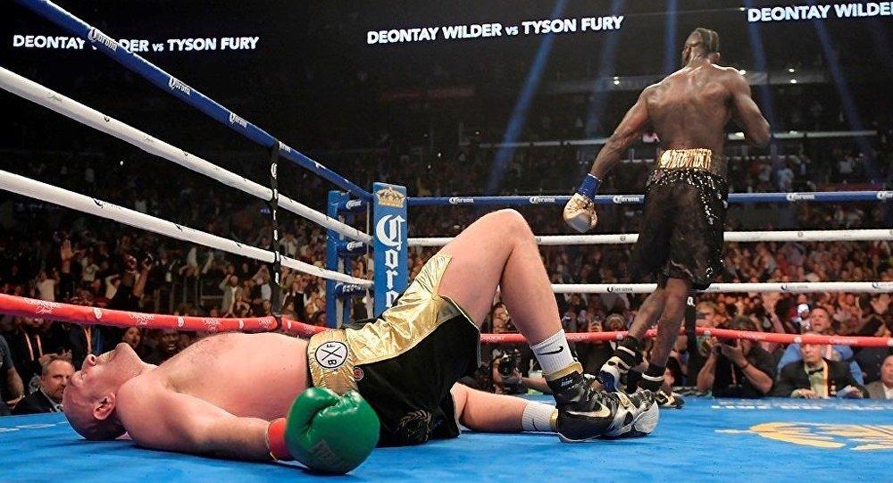 Deontay Wilder ile Tyson Fury arasındaki maç