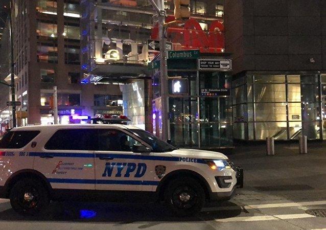 New York polisi, bomba tehdidi nedeniyle Time Warner Merkezi'ni tahliye etti