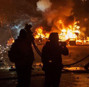 Atina'da protesto eylemleri