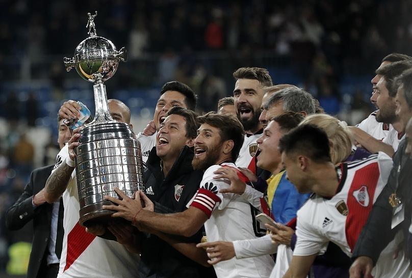 'Tarihin en uzun finali'nde Libertadores Kupası'nı River Plate kazandı