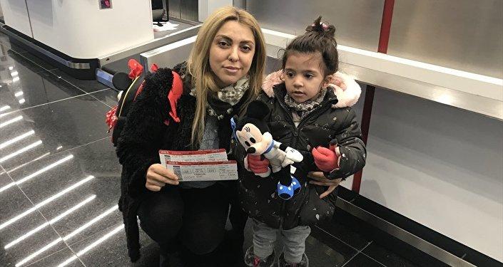 THY, İstanbul Havalimanı'ndan Trabzon'a ilk uçuşunu yaptı: 'Kızım reklamlarda görmüş, gelmek istedi'
