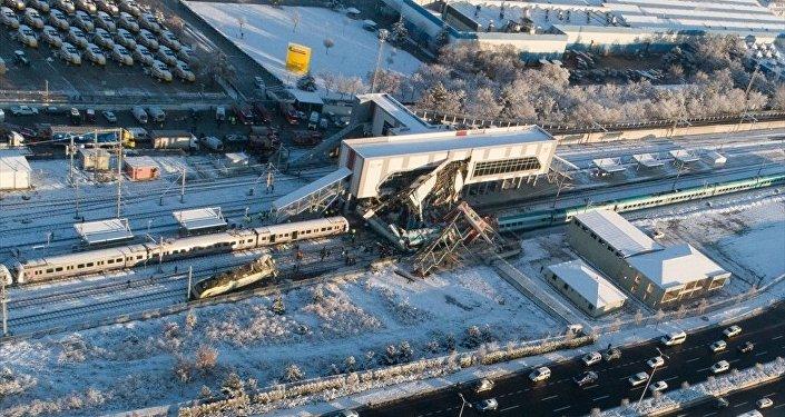 Ankara - tren kazası