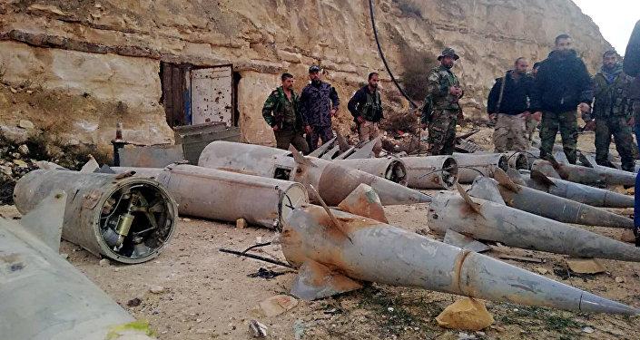 Suriye - kara-hava füzeleri