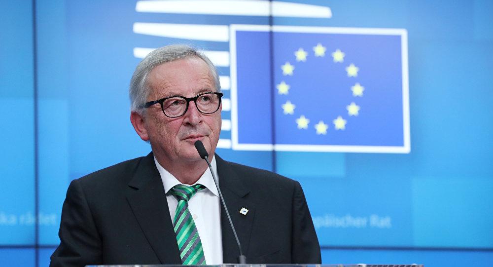 Avrupa Birliği (AB) Komisyonu Başkanı Jean-Claude Juncker