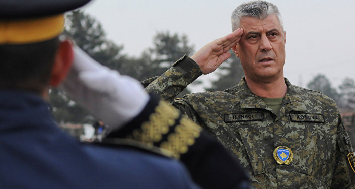 Hakkında savaş suçu ithamları da bulunan eski UÇK Komutanı Haşim Thaçi'nin cumhurbaşkanlığında Kosova ordusunun kurulmasına meclisten onay çıktı.