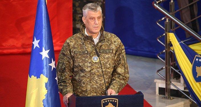 Kosova Cumhurbaşkanı Haşim Thaçi