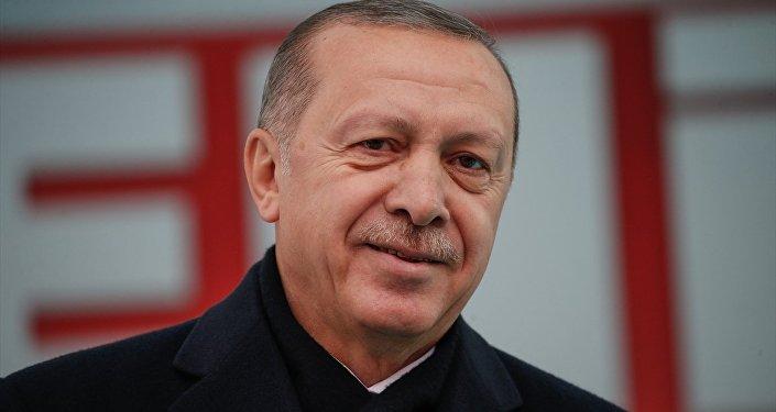 Türkiye Cumhurbaşkanı ve AK Parti Genel Başkanı Recep Tayyip Erdoğan