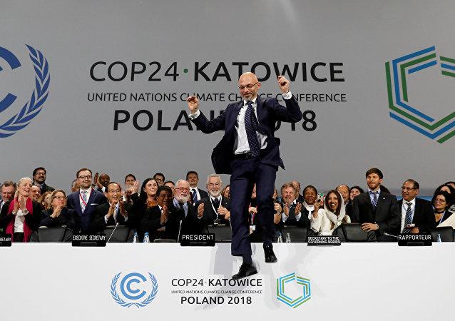 BM İklim Değişikliği Çerçeve Sözleşmesi 24. Taraflar Konferansı (COP24) olarak adlandırılan toplantı