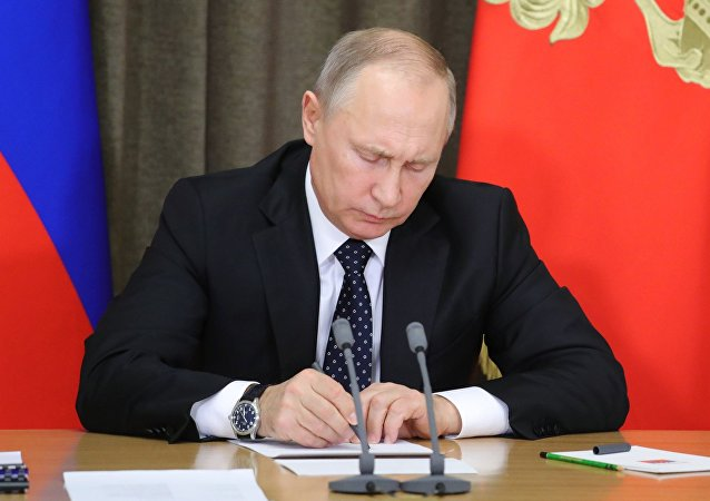 President Putin chairs meeting on army modernization