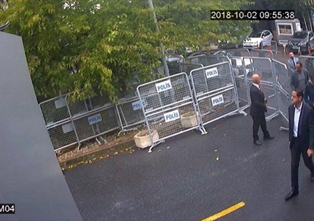 AA, Kaşıkçı'yı öldüren timin yeni görüntüleri yayınladı