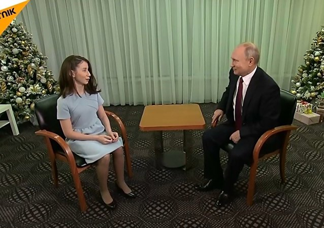 Putin, ağır hasta olan Regina'nın hayalini gerçekleştirdi
