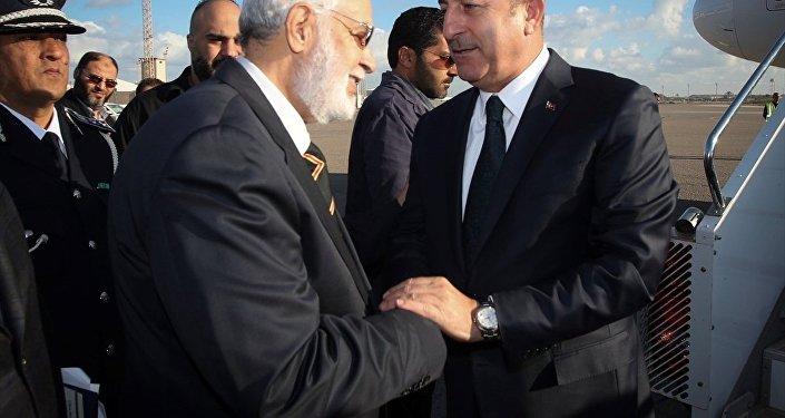 Mevlüt Çavuşoğlu - Muhammed El Tahir Siyala