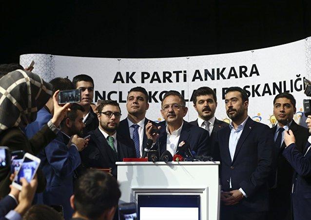 Özhaseki, konuşması sonrası partililerin isteği üzerine Türkiye Cumhurbaşkanı ve AK Parti Genel Başkanı Recep Tayyip Erdoğan'ı aradı.