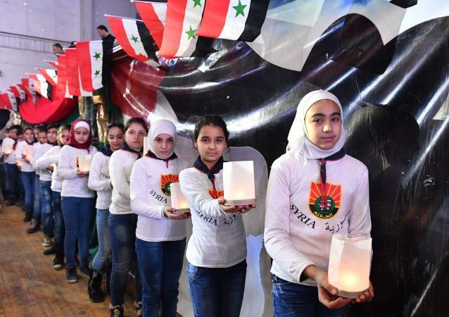 Halep'in teröristlerden kurtuluşunun 2. yıldönümü kutlamaları