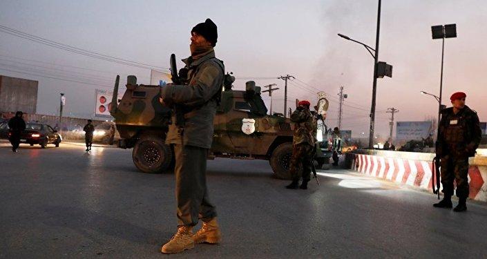 Afgan güvenlik güçleri - Afganistan