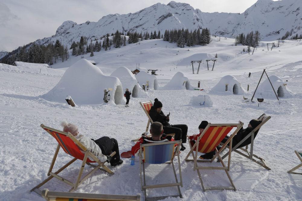 Dünyanın etkileyici buzdan otelleri