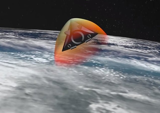 Avangard hypersonic missile