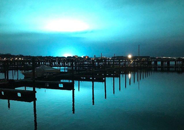 mavi ışık - Newyork