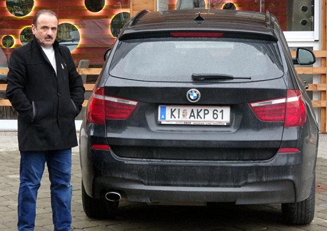 Avusturya'da 'AKP' yazılı plakası yasaklanan Türk'ün itirazı haklı bulundu