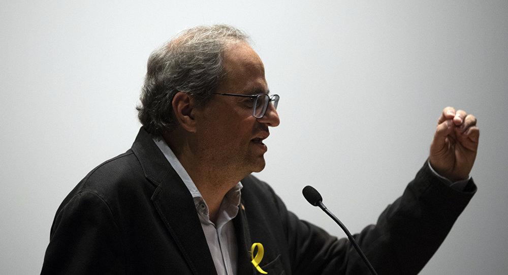 Katalonya Özerk Yönetim Hükümeti Başkanı Quim Torra