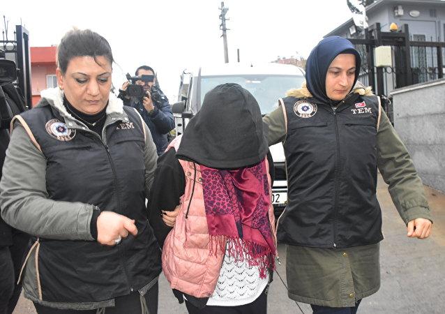 Ayşenur İnci - tutuklandı
