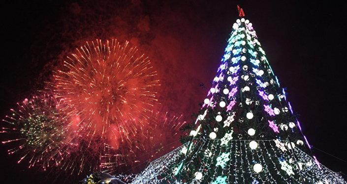 Rusya'da Yeni Yıl Kutlaması